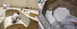 Impermeabilização com fibra de vidro
